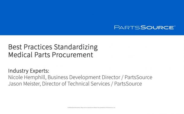 Best Practices for Standardizing Medical Parts Procurement
