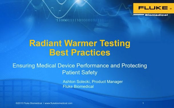 Radiant Warmer Testing Best Practices