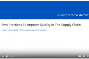 Webinar Addresses Supply Chain Practices
