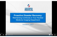 Webinar Prepares Biomeds for Disasters