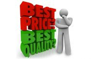 BEST QUALITY OR BEST PRICE – WHAT IS YOUR PRIORITY?