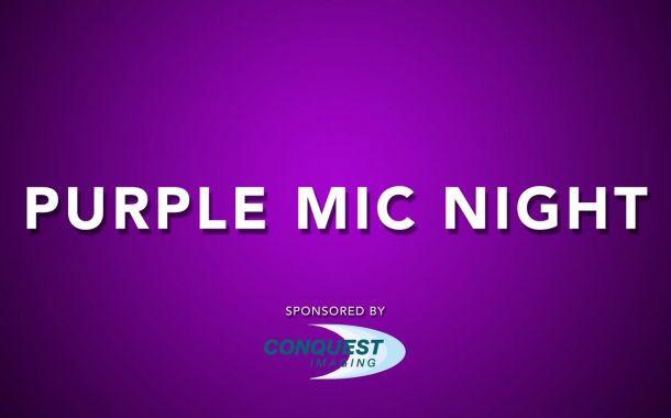 Purple Mic Night Teaser