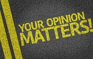 Make Your Opinions Count