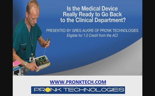 Is the Medical Device Really Ready to Go Back to the Clinical Department?