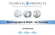 Mammography & MQSA - An Overview