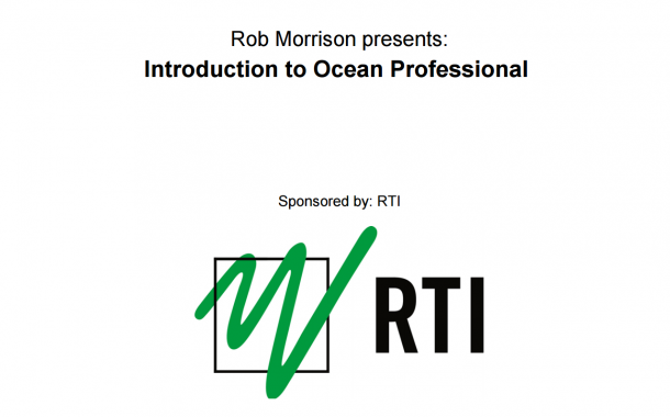 An Introduction to Ocean Professional