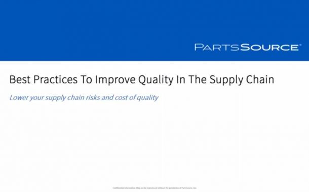 Best Practices to Improve Quality in the Supply Chain