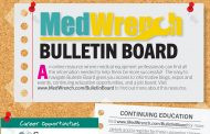 MedWrench Bulletin Board – January 2018