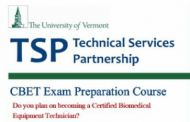 COMING SOON: University of Vermont Online CBET Examination Review Course