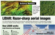 Did You Know? - LIDAR: Razor-sharp aerial images