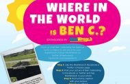 [Sponsored] Where in the World is Ben C.? - October 2018