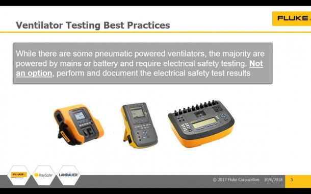 Introduction to Ventilator and Medical Gas Flow/ Pressure Device Testing