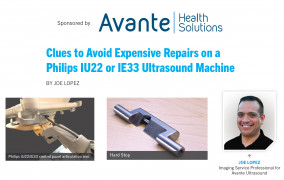 [Sponsored] Download Clues to Avoid Expensive Repairs on a Philips IU22 or IE33 Ultrasound Machine.