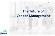 The Future of Healthcare Vendor Management