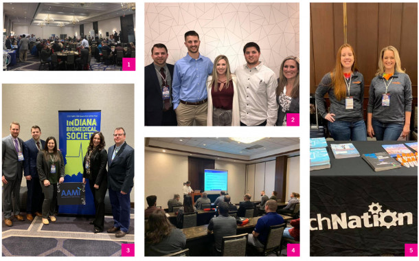 Scrapbook: Indiana Biomedical Society 2019