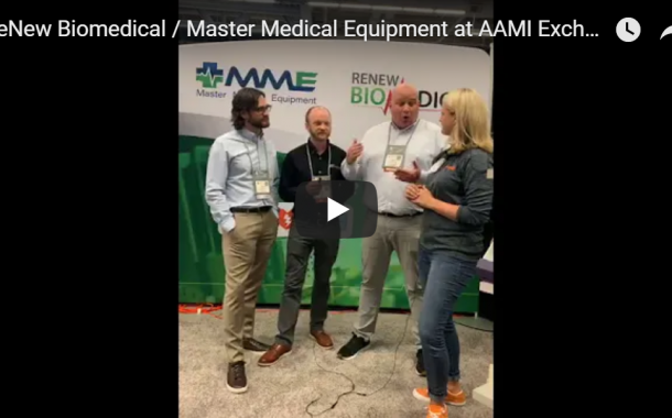 ReNew Biomedical / Master Medical Equipment at AAMI Exchange 2019