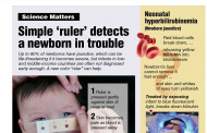 Simple 'ruler' detects a newborn in trouble