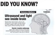 Ultrasound and light see inside brain