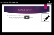 Surviving the CMS Inspection