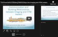 Communication and Building Relationships Between Imaging and HTM Leaders