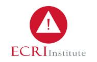 ECRI Update: 10 Health Technology Hazards That Should Be on Your Radar