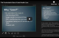 The Technician's Side of Lean Health Care