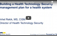 Building a Medical Device Security Management Plan