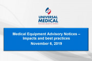 Webinar Addresses Advisory Notices