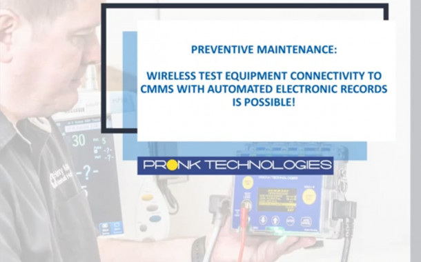 Preventive Maintenance: Wireless Test Equipment Connectivity to CMMS with Automated Electronic Records is Possible!
