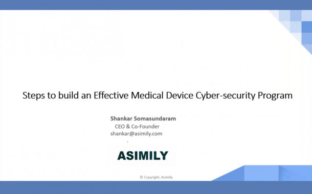 Steps to Build an Effective Medical Device Cybersecurity Program