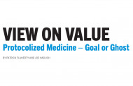 View On Value: Protocolized Medicine – Goal or Ghost