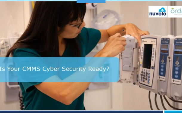 Is Your CMMS Cyber Security Ready?