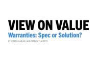 Warranties: Spec or Solution?