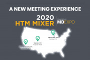 MD Expo Irvine Transitions to HTM Mixers