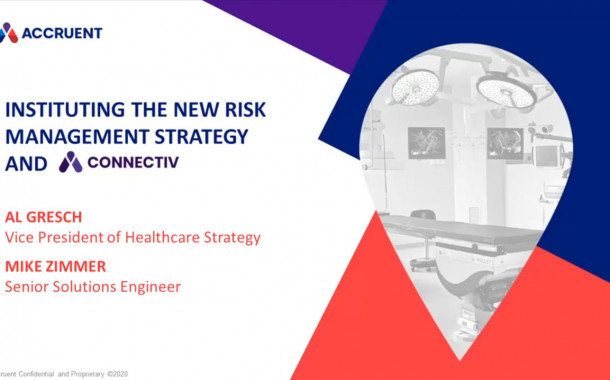 Instituting the New Risk Management Strategy and Connectiv
