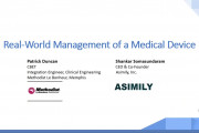 Real-World Management of Medical Devices