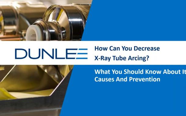 Webinar Explores X-ray Tube Arcing