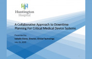 A Collaborative Approach to Downtime Planning for Critical Medical Device Systems