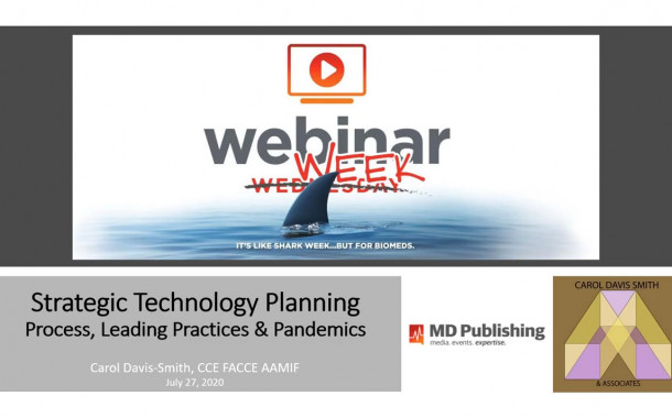 Strategic Technology Planning - Process, Leading Practices & Pandemics