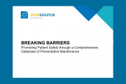 Breaking Barriers: Promoting patient safety through a comprehensive database of preventative maintenance
