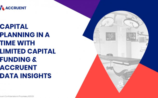 Capital Planning in a Time with Limited Capital Funding & Accruent Data Insights