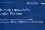Modernizing Your CMMS Solution - Key Considerations