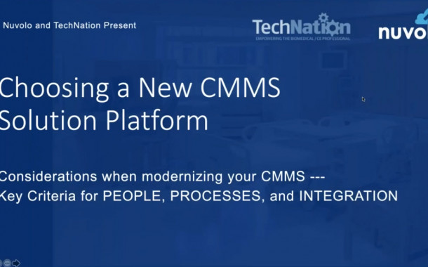Webinar Address Modernizing Your CMMS