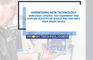 Harnessing New Technology - Wirelessly Control Test Equipment and Capture Results for Service and PMs with Your Smart Device
