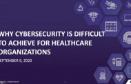 Why Cyber-security is Difficult to Achieve for Healthcare Organizations