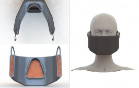 Engineers Design Heated Face Mask to Filter, Inactivate Coronaviruses
