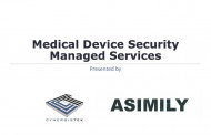 Medical Device Security Managed Services