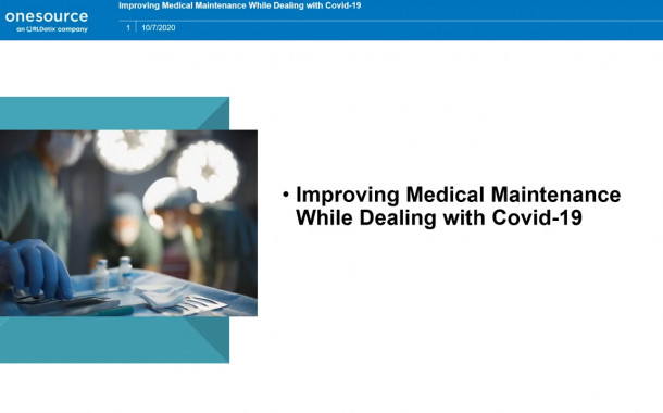 Webinar Explores Medical Maintenance During a Pandemic