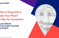 Who is Prepared to Take Your Place? A Plan for Succession
