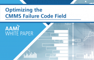 AAMI Update: CMMS Suppliers Unite to Standardize Medical Device Failure Codes in AAMI-Sponsored White Paper